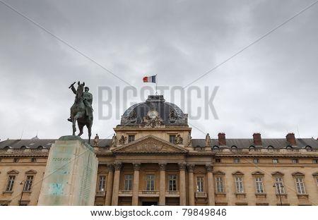 Paris. Military School.