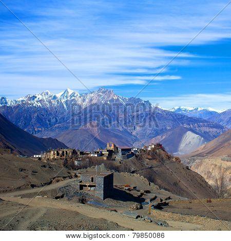 Jarkot village, Nepal