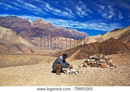 Annapurna conservation area, Nepal