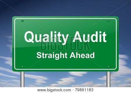 quality audit sign