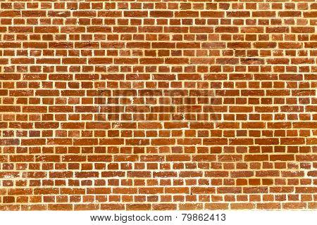Plain Redbrick Wall
