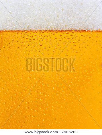Dewy Beer Glass Texture