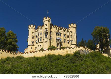 Hohenschwangau Castle, Germany.