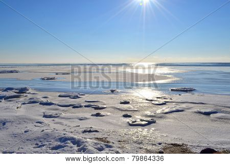 Marine Winter Landscape