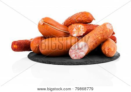 Smoked Sausage On A String.