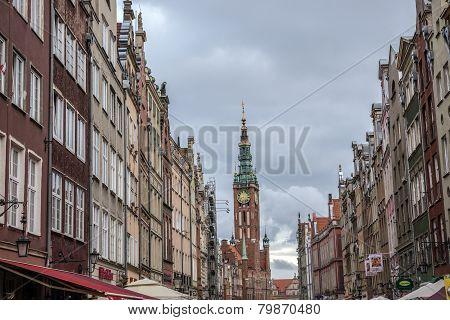 Old Town In Gdansk