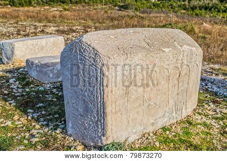 Tombstones from the Middle Ages