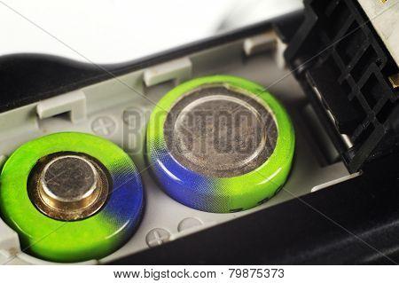 Batteries In A Digital Camera