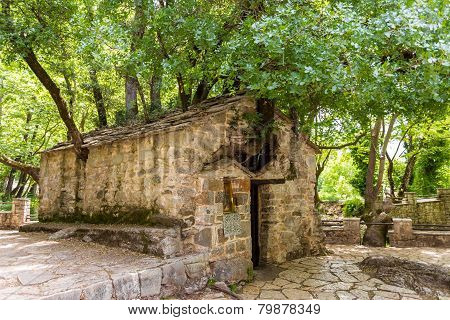 small Byzantine church of Saint Theodora