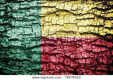 Benin Flag .