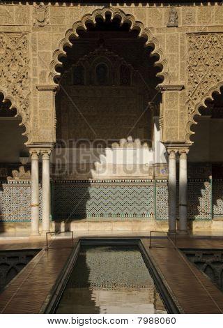 Royal Alcazar In Seville, Spain