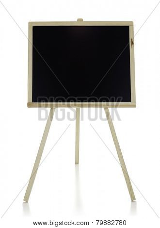 Chalkboard  isolated on the white background, clipping path included.