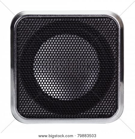 Speaker close up