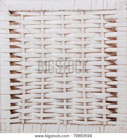 wooden texture of rattan
