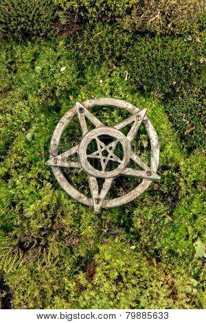 Pentagram closeup photo