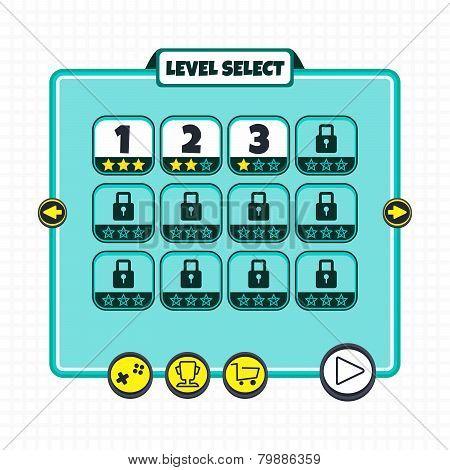 game asset option menu