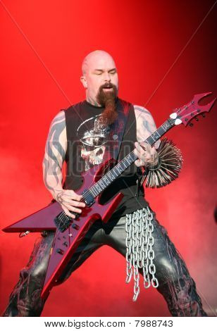 Slayer Kerry King on Sonisphere festival