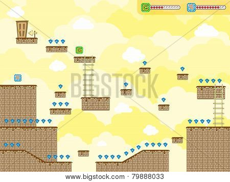 game asset platform theme