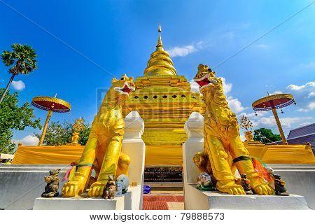 Wat Phra That Sri Chom Thong. Chiang Mai, Thailand