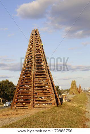 bonfire structure