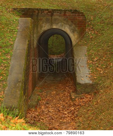 vintage tunnel