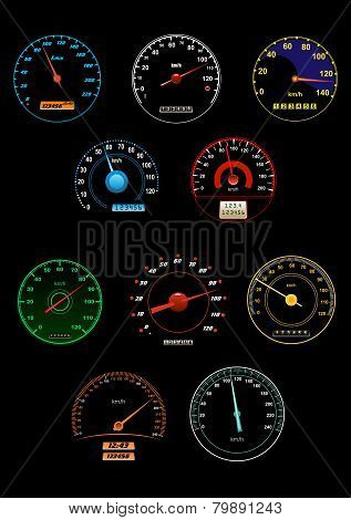 Sppeedometers and speed dials