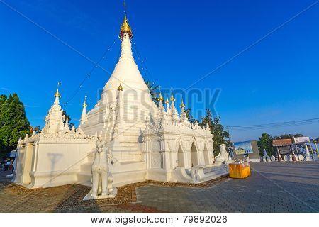 Wat Prathat Doi Kong Mu, Maehongsorn Thailand