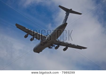 SAN CARLOS, CA - JUNE 19: C-5 Galaxy on display at the Vertical Challenge 2010, June 19th, 2010, at