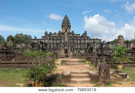 Khmer Temple In Angkor Wat