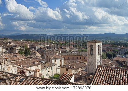 Ancient Town Of Gubbio (umbria, Italy)