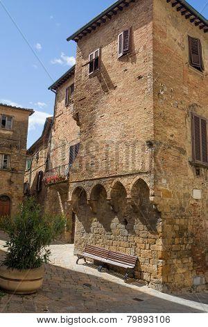 The Historic Center Of Volterra (tuscany, Italy)