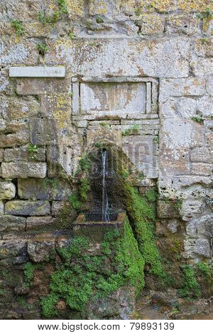 Roman Fountain - Front View