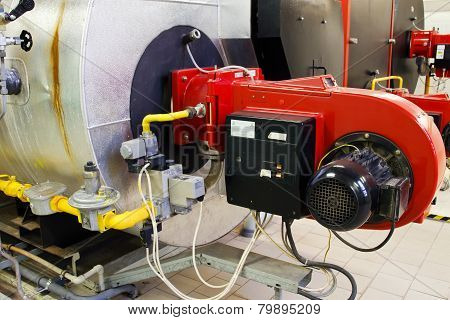 Industrial Gas Boiler