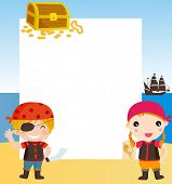 picture of pirate sword  - children pirates - JPG