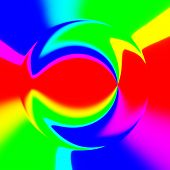picture of hallucinogens  - Abstract crazy colorful shapes as unusual background - JPG