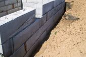 picture of cornerstone  - Initial works on construction of the house - JPG