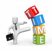 pic of struggle  - The struggle with time - JPG