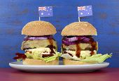 pic of burger  - The Great Aussie BBQ Burger  - JPG
