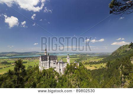 Neuschwanstein Castle  (new Swanstone Castle)