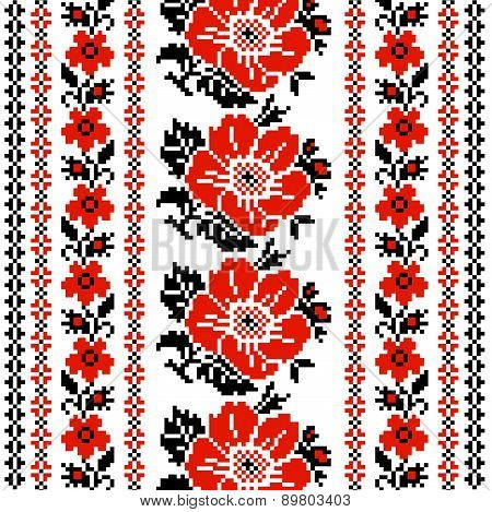 Flower Ukrainian Ornament