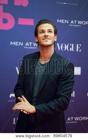 MOSCOW, RUSSIA, October, 9: French actor Gaspard Ulliel attends the premiere of the movie