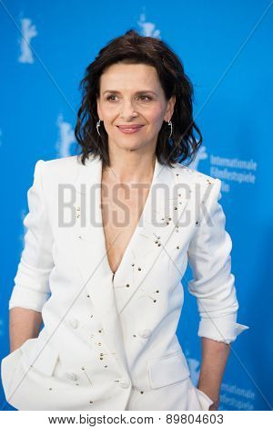 BERLIN, GERMANY - FEBRUARY 05: Juliette Binoche attends the 'Nobody Wants the Night', photo call during 65th Berlinale International Film Festival at Grand Hyatt Hotel on February 5, 2015 in Berlin, Germany.