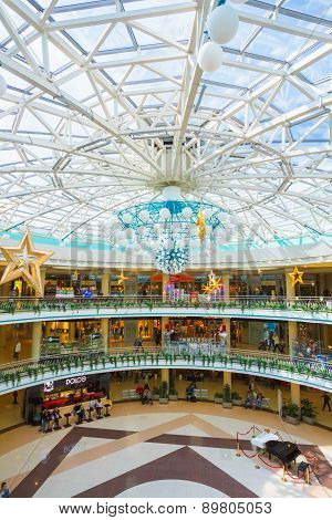 Belarussian Shopping Center Stolitsa In Minsk