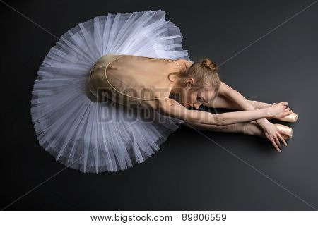 Graceful ballerina