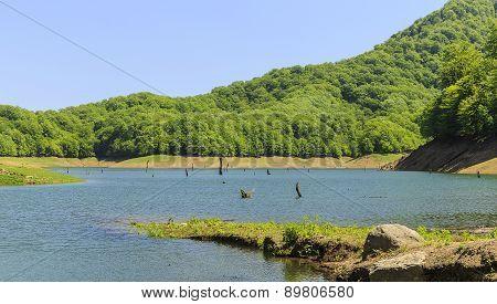 Khanbulan Reservoir In Lankaran