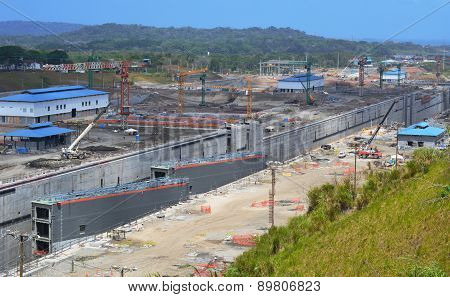 Construction Site of the Expansion of the Panama Canal