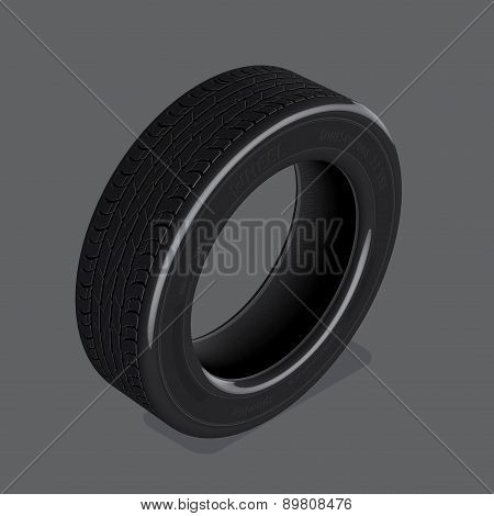 Car Tire Set 1