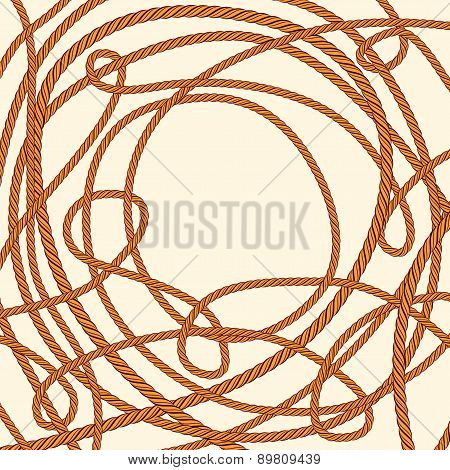 Tangled Rope Background