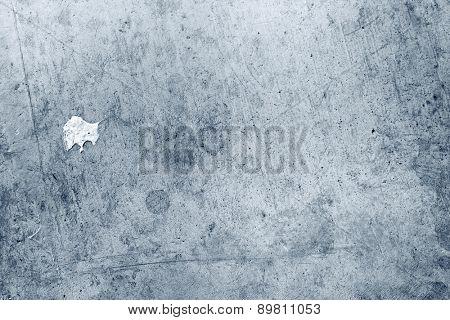 Closeup of blue concrete wall