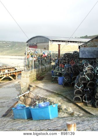 Cornish Crabbing Pots